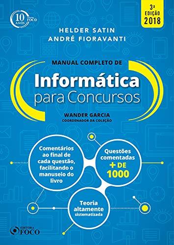 Manual completo - Informática para concursos - 3ª edição - 2018