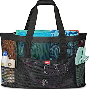 Oahu XXL Mesh Beach Bag Tote