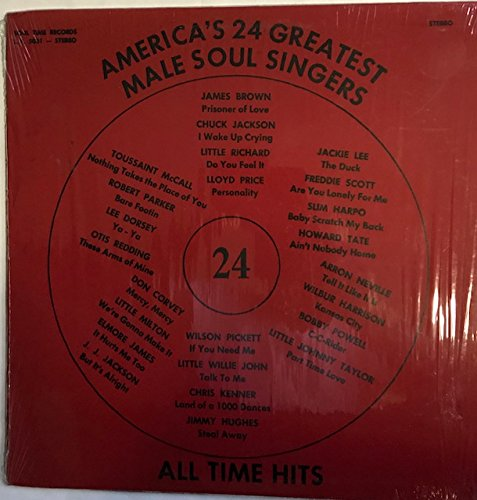 America's 24 Greatest Male Soul Singers All Time Hits