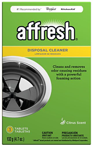 Affresh W10509526 Garbage Disposal Cleaner | Removes Odor Causing Residues, U.S. EPA Safer Choice Certified, 3 Tablets