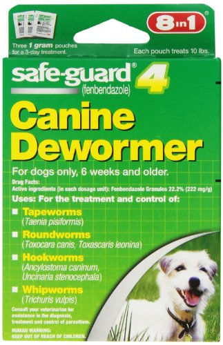 Excel Safe-Guard Canine DeWormer for Small Dogs