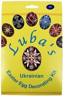 luba's ukrainian easter egg