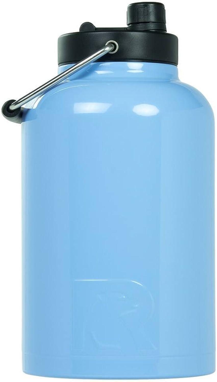 RTIC One Gallon Vacuum Insulated Jug, Carolina bluee