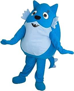 Toodee Blue Cat Yo Gabba Gabba Mascot Costume Character Cosplay Party Birthday Halloween