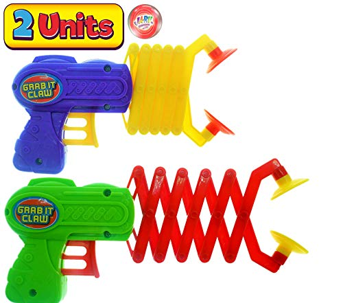 JA-RU Robot Arm Claw Grabber, Grab it Claw Toy (2 Units Assorted) 12 Inches Long. Pick Stick. Grabber Toys for Kids. Great Party Pack Favors Tool Toy. Plus 1 Bouncy Ball Item #5614-2p