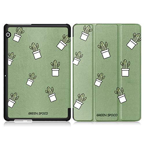 Yoedge Funda Tablet Apple iPad Air 2, Carcasa con Dibujos Animados Ultra Delgada Ligera Smart-Shell Soporte Cover Case para iPad Air 2 Fundas Tablet 9,7 Pulgadas, Cactus