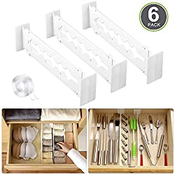 Kitchen drawer utensil organizer divider