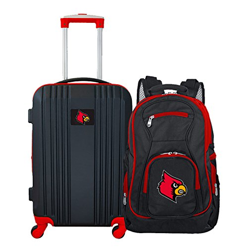 Great Price! NCAA Louisville Cardinals 2-Piece Luggage Set