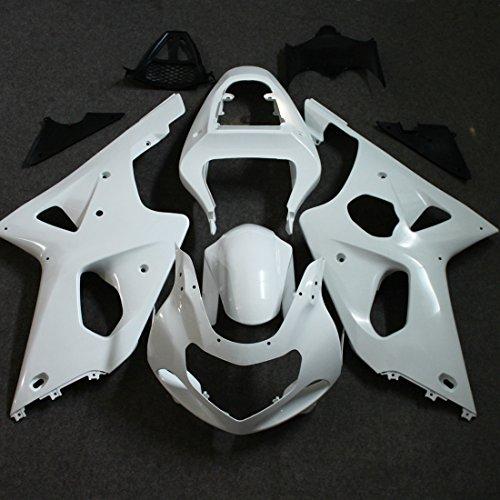 ZXMOTO Unpainted Fairing Kit for 2000 2001 2002 Suzuki GSXR 1000 Fairings Set