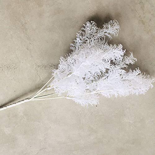 Fxshisnz Künstliche Blumen Artificial Eisblume Eisblume Raureif Hochzeit Dekoration Hochzeit Szene Layout Blume Party nach Hause Dekoration träumen (Color : White 1pcs)