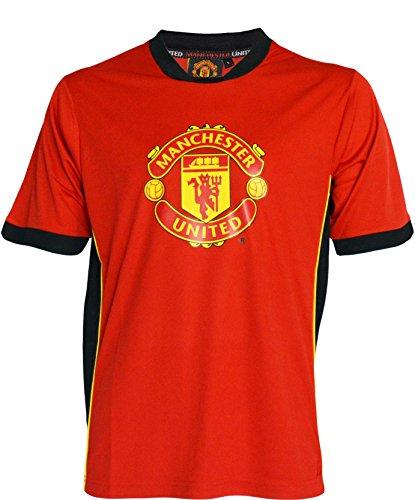 Manchester United FC Herren-Trikot, offizielle Kollektion, Rot - rot - Größe: Large