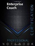 Enterprise Coach Certification Exam Preparation Notebook, examination study writing notebook, Office...