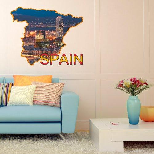sticker mural 62x50 cm autocollants 62x50 040103-16