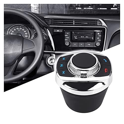 YINHUI 8 Llave inalámbrica de Control de Control de Control de la Rueda de Control de la Unidad de Cabeza de Control Remoto Ajuste para la Radio del automóvil DVD GPS Navegación de Android