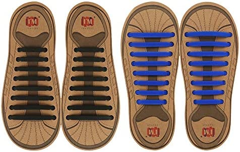 INMAKER No Tie Shoelaces Pack of 2 Elastic Shoe Laces for Kids and Adults product image