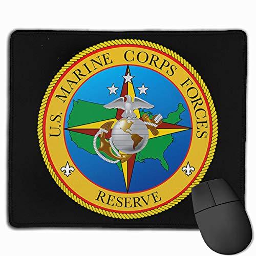 United States Marine Corps Reserve Mauspad Rutschfestes Gaming Office Mauspad Rechteckiges Gummi-Mauspad