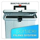"Pendaflex Portable File Box, Granite, 11"" H x 14"" W x 6-1/2"" D (41737)"