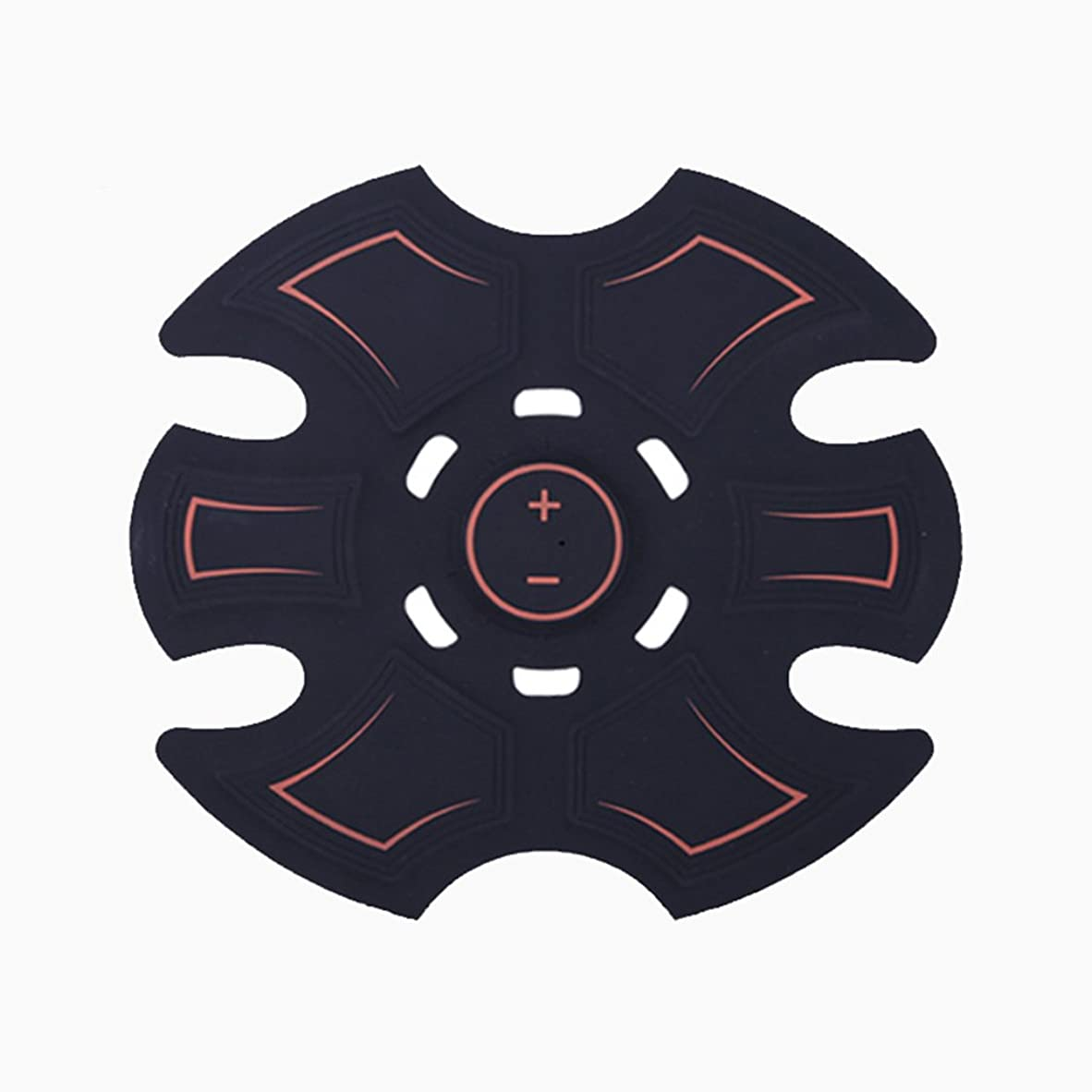 抽出滅びる広告主GBR- 2018ホットセールEMSフィットネスマッサージリラックスマッサージアブ腹筋マッサージ(黒)