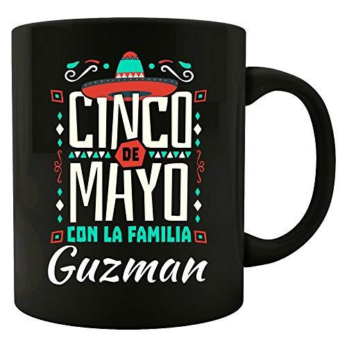 Cinco De Mayo Con La Familia Guzman Last Name Gift - Mug