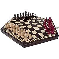 Chessebook - Ajedrez, para 3 jugadores 40 x 35 cm