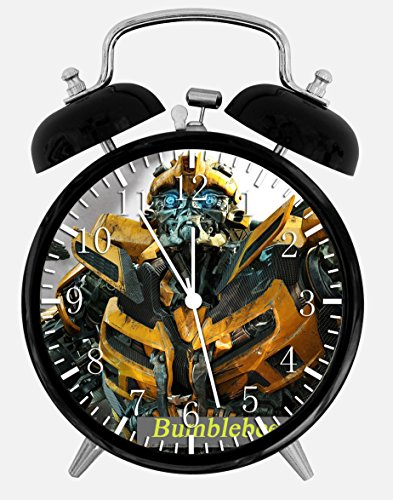 Transformers Bumblebee Desk Alarm Clock 4 inches Decor Y14 Nice for Gifts