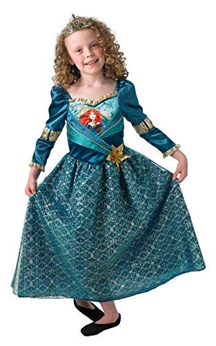 Rubie's Offizielles Merida Shimmer Prinzessin Brave Kinderkostüm für Mädchen und Kinder