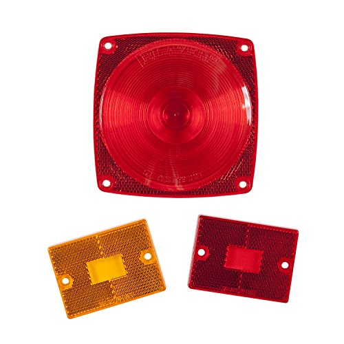 Blazer International B9423K 3-Piece Replacement Lens Kit for 83/93 Series and 423 Series Lights