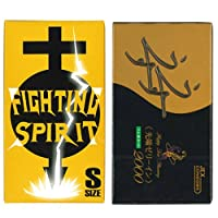 ゼリヤコート うすうす 2000 12個入 + FIGHTING SPIRIT (ファイティングスピリット) コンドーム Sサイズ 12個入