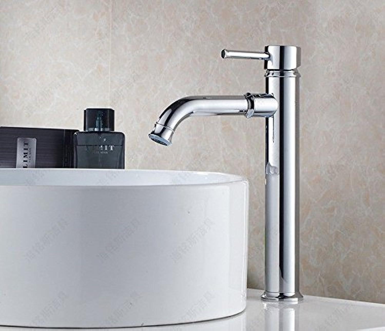Moderne einfacheKupfer hei und kalt Spülbecken Wasserhhne Küchenarmatur Bad WasserhahnKupfer Chrom warmes und kaltes Mischwasser Becken Waschbecken Mischer Geeignet für alle Badezimmer Küchenbecken