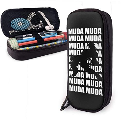 Estuche Big Capacity Large Storage Pluma Pencil Lápiz Pouch Stationery Organizer Practical Bag Holder with Zipper - JoJo's Bizarre Dio Brando MUDA