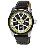 Sports Wrist Watch for Men with Carbon Fiber Face - Racing Car Theme and Unique...