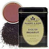 Harney & Sons Loose Leaf Black Tea, English Breakfast, 4 Ounce