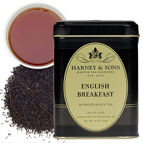 Harney & Sons Loose Leaf Black Tea, English Breakfast, 4 Ounce