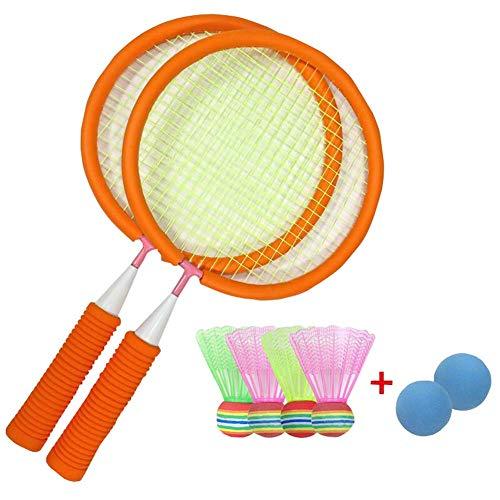 Black Temptation Satz von Badminton Baseball Toy Indoor / Outdoor Kids Interesse erhöht Angebot Orange