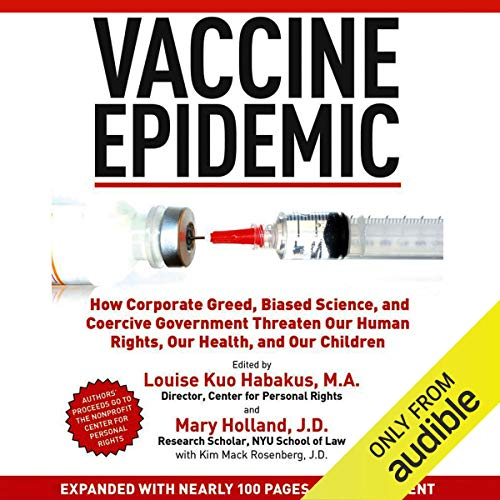 Vaccine Epidemic audiobook cover art