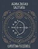 Agenda Zodiaco Sagittario: Agenda Segni Zodiacali 53 Settimane Riepilogo Mese Calendario Contatti Password