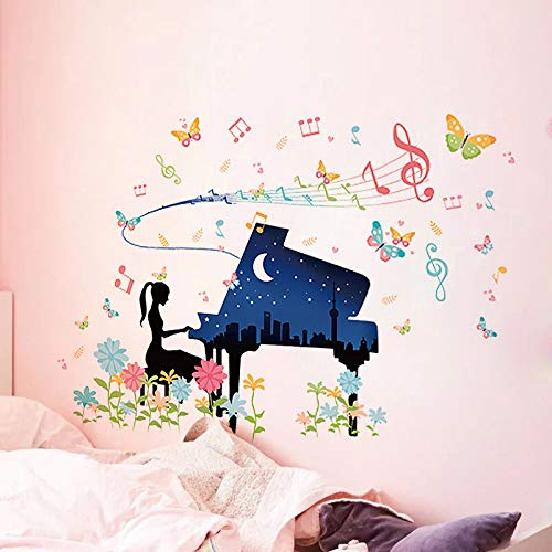 Decoración Del Dormitorio Pintura Junto A La Cama Pegatinas Pegatinas De Pared Decoración Habitación Estilo Femenino Cálido Autoadhesivo 80*115cm A