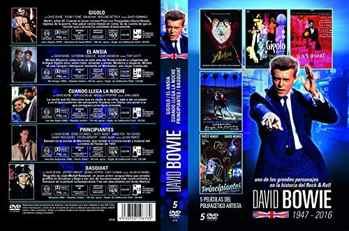 David Bowie Collection - 5-DVD Set ( Just a Gigolo / The Hunger / Into the Night / Absolute Beginners / Basquiat ) [ Spanische Import ]