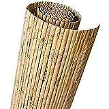 Suinga CAÑIZO natural partido JARDIN 1 x 5 m, útil para ocultación, delimitación o sombrajes.