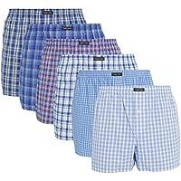 Lower East American Style, Bóxer, Hombre (Pack de 6), Multicolor (Business), Medium