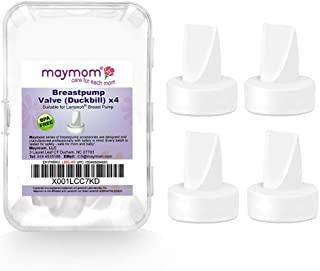 Maymom Pump Valve for Lansinoh Breast Pumps Signature Pro/Smartpump/Manual Breast Pumps. Replace Lansinoh Pump Valves.