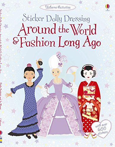 Sticker Dolly Dressing/Around The World And Fashion Long Ago
