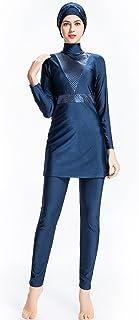 3 Pezzi seafanny Costume da Bagno Islamico da Donna Copertura Completa Hijab Burkini