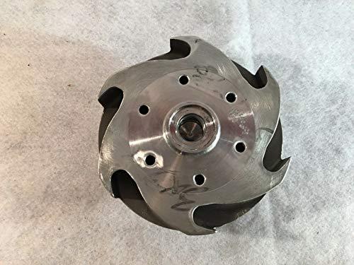 Flowserve Flügelrad, 14 cm Durchmesser. MY50729A62060 3x2x6 Cut D 6RV CD4M MRK3