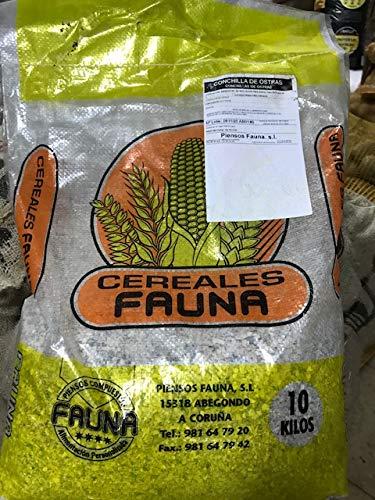 Piensos Fauna Conchilla de Ostra Saco 10kg.