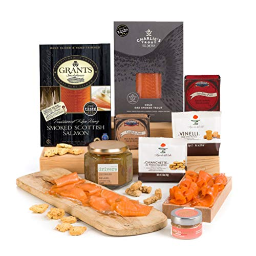 Hay Hampers - Deliciously Fishy - Luxury Fish Gift - Free UK Delivery