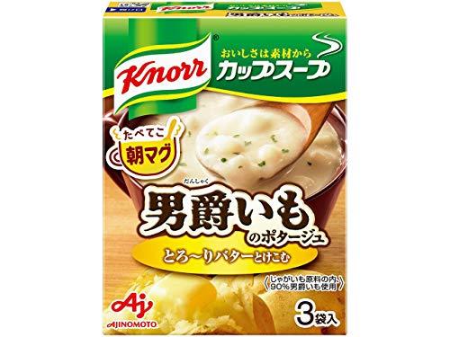 クノール カップスープ 男爵いものポタージュ 3袋入×10箱