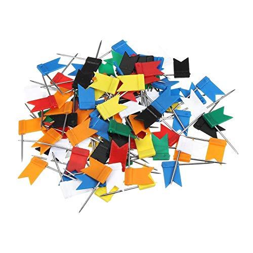 100 piezas, alfileres largos alfileres pequeños