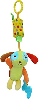 Anniston Kids Toys, Cartoon Lion Elephant Owl Cat Animal Rattle Toy Baby Infants Doll Wind Bell Baby Toys for Children Tod...