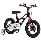 RoyalBaby Space Shuttle bicicleta infantil de magnesio para niños y niñas, de 4 a 6...